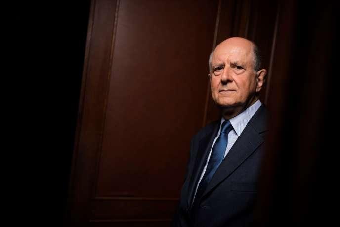 Jean-Marc Sauvé, ancien vice-président du Conseil d'Etat, en septembre 2017.