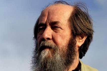 Alexandre Soljenitsyne, le 26 septembre 1993, en Vendée.