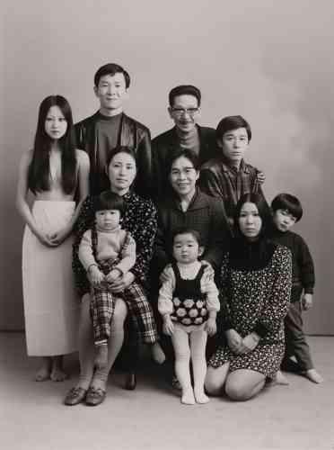 La famille Fukase, 1972.