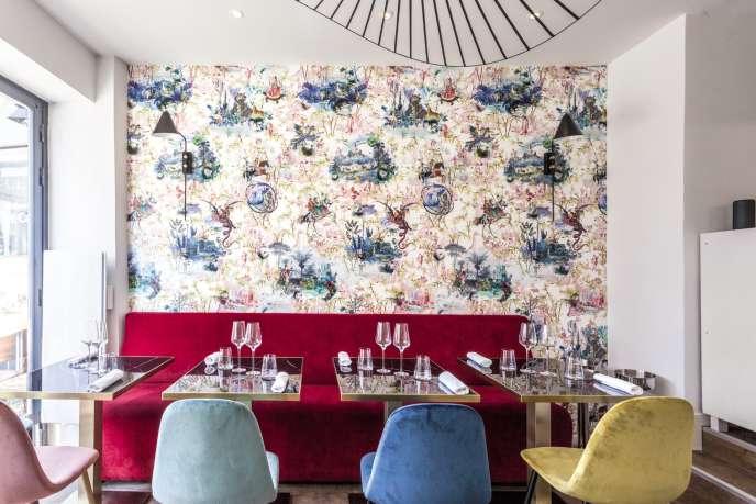Le restaurant Sadarnac a ouvert à Paris, en octobre.