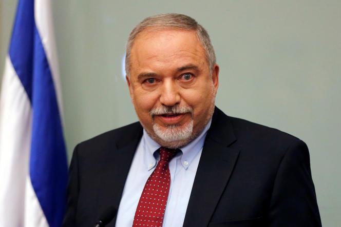 Le ministre de la défense israélien, Avigdor Lieberman, le 14 novembre à Jérusalem.