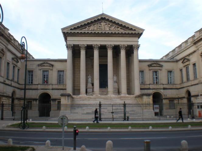 L'ancien palais de justice de Montpellier, actuel siège de la cour d'appel et de la cour d'assises, en 2009.