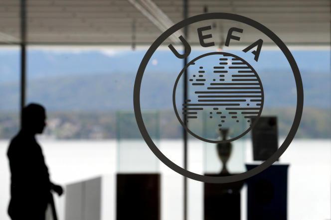 Au siège de l'UEFA, à Nyon (Suisse), en 2016.