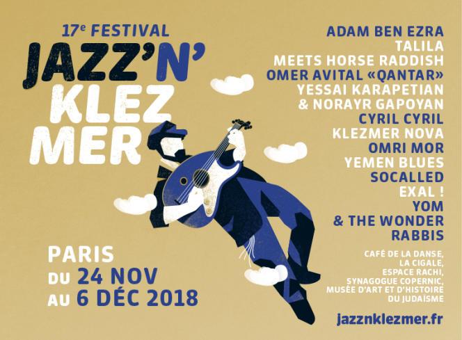 Affiche du festival Jazz'n'klezmer.