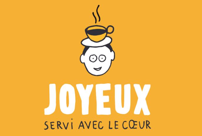«Joyeux, un café qui redonne dignité à des personnes en handicap cognitif en leur offrant un travail en milieu ordinaire.»