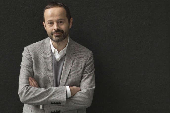 Quentin Bajac, le nouveau directeur du Jeu de paume à Paris.