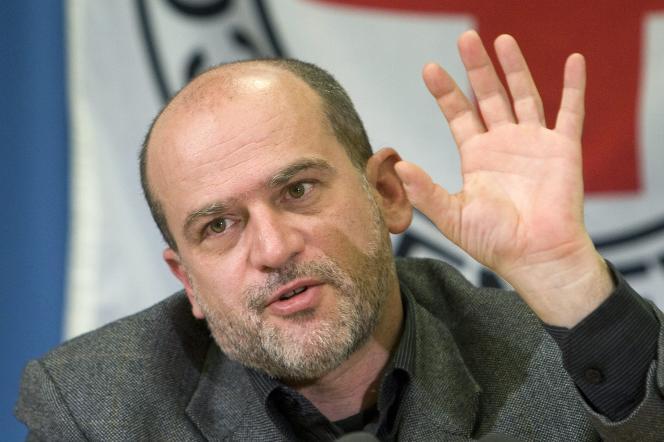 Jacques de Maio, chef de délégation du Comité international de la Croix-Rouge (CICR) en Israël et dans les territoires palestiniens occupés, à Genève, le 30 mars 2009.