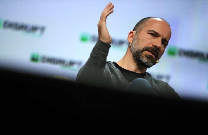Le patron d'Uber, Dara Khosrowshahi, à San Francisco (Californie), le 6 septembre.