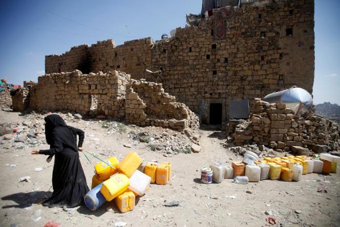 Dans la ville portuaire d'Hodeïda, au Yémen, le 2 novembre.