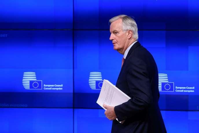 Michel Barnier, négociateur en chef de l'UE pour le Brexit, à Bruxelles, le 15 novembre.