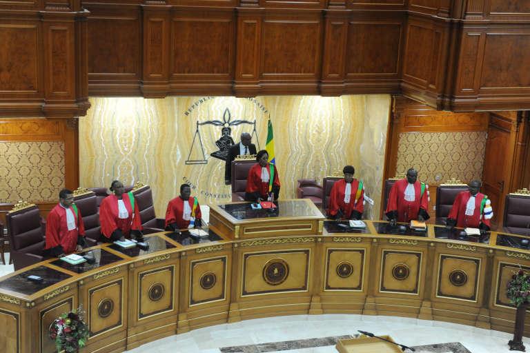 La Cour constitutionnelle gabonaise, à Libreville, en septembre 2016.