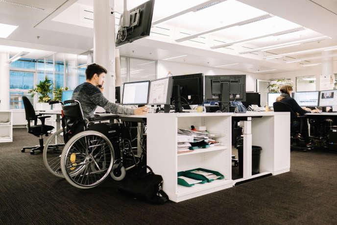 """«Malgré le """"quota"""" de 6% de travailleurs handicapés imposés aux entreprises depuis 2005, le taux de chômage des personnes en situation de handicap reste deux fois plus élevé que la moyenne nationale. »"""