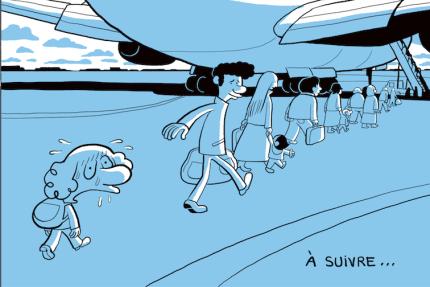 Un dessin extrait de «L'Arabe du futur», tome 1.