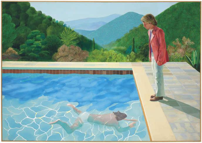 «Portrait of an Artist (Pool with Two Figures)» (1972), de David Hockney.
