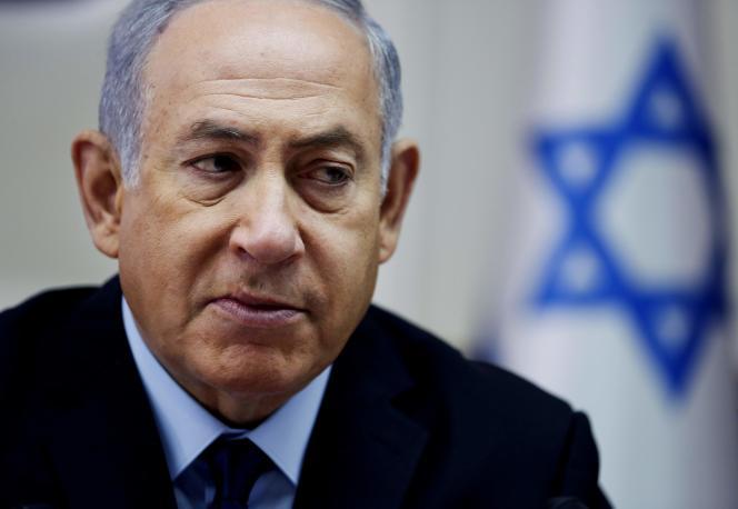 Le premier ministre israélien, Benyamin Nétanyahou, le 16 novembre, à Jérusalem.