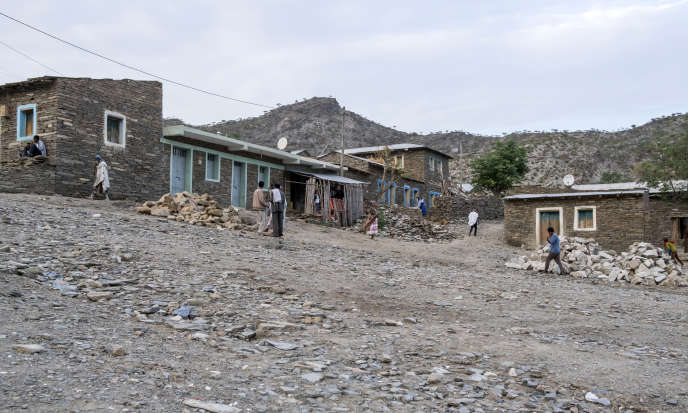 Alitena, petite ville du nord de l'Ethiopie, en juillet 2018.