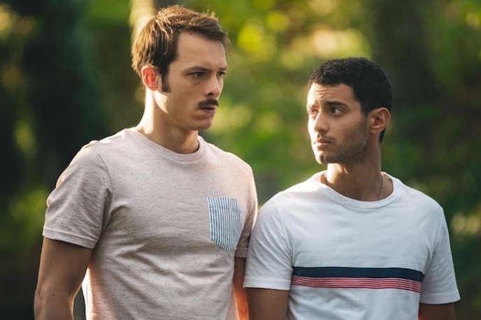 Eric Pucheu et Mehdi Meskar dans «Les Engagés», saison 2.