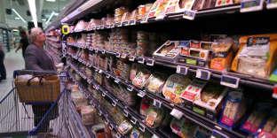 Dans un supermarché de Coutances (Manche), en 2015.