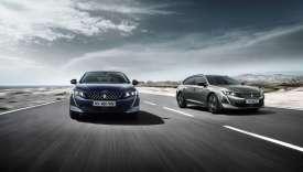 La Peugeot 508 sera disponible en « plug-in » dès 2019.