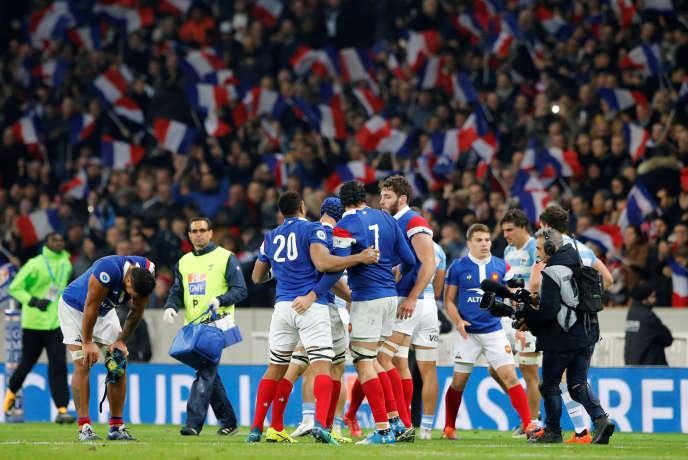 Le XV de France a battu (28-13) l'Argentine, samedi 17 novembre, à Villeneuve d'Ascq.