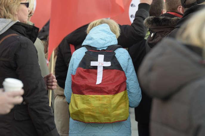 A Chemnitz, le 16 novembre.