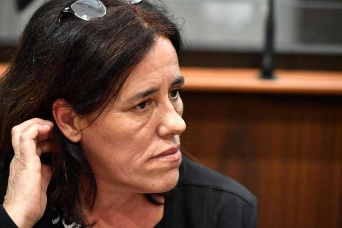 Rosa Maria Da Cruz au premier jour de sa comparution devant la cour d'assises de la Corrèze, à Tulle, le 12 novembre.