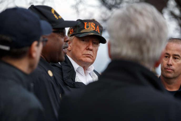 Avant d'arriver en Californie, Donald Trump s'est entretenu par téléphone avec le secrétaire d'Etat et la directrice de la CIA, le 17 novembre.