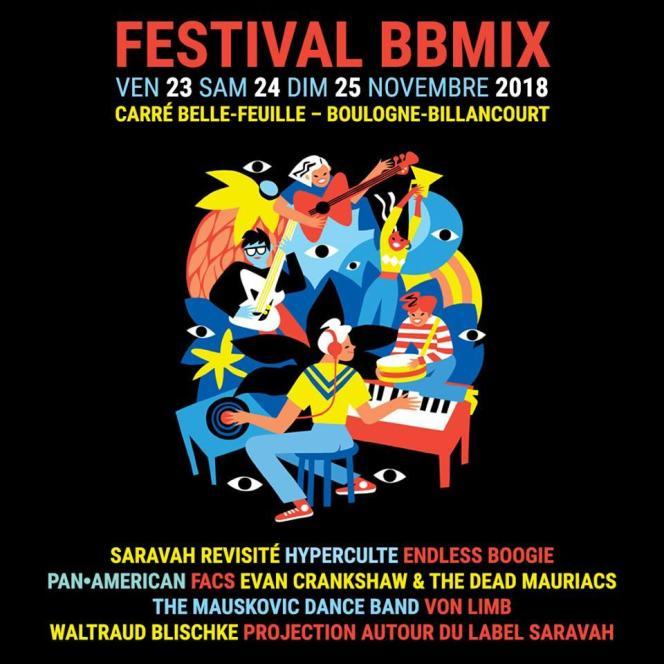 Affiche du festival BBmix.