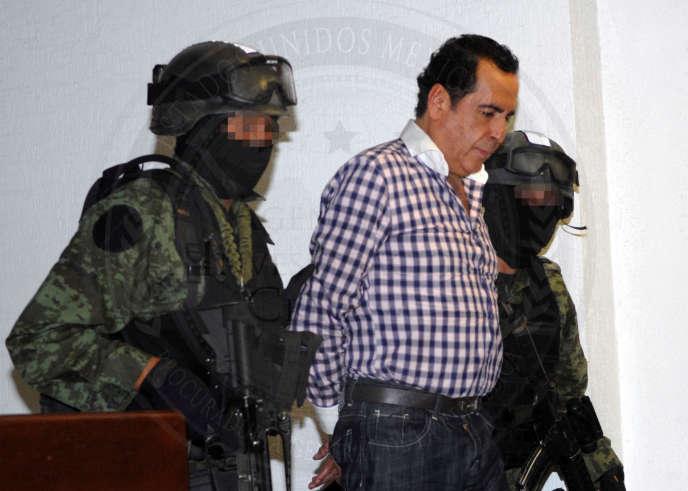 Héctor Beltrán Leyva, le 1er octobre 2014, avant son emprisonnement.