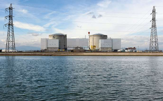 La centrale nucléaire de Fessenheim, en 2011.