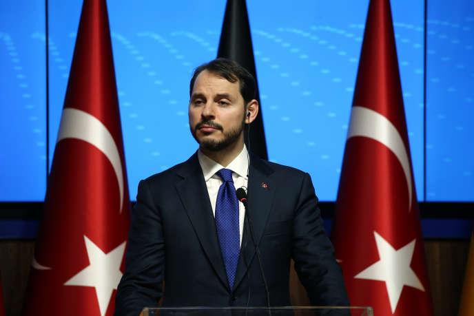 Berat Albayrak, le 25 octobre 2018 à Ankara.
