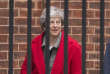 La première ministre britannique, Theresa May, quittant le 10, Downing street, le 16 novembre.
