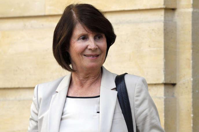 L'actuelle présidente de la CNCDH, Christine Lazerges, le 24 septembre 2012à Paris. Elle quittera ses fonctions le 25 novembre.