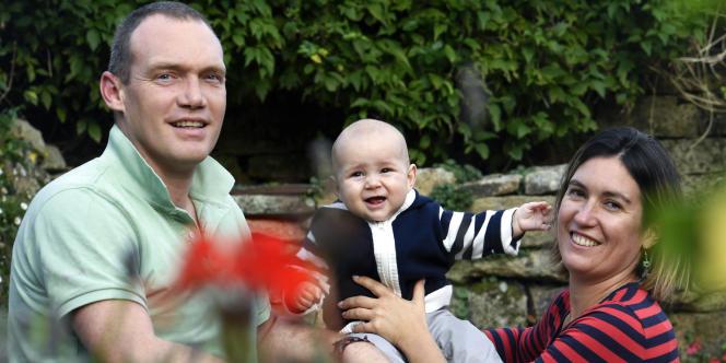 Jean-Christophe et Lydia Bernard, les parents de Fañch, en octobre 2017.