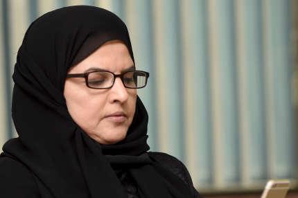 Aziza Al-Youssef, ici en 2016 à Riyad, l'une des militantes féministes saoudiennes torturées lors leur détention.