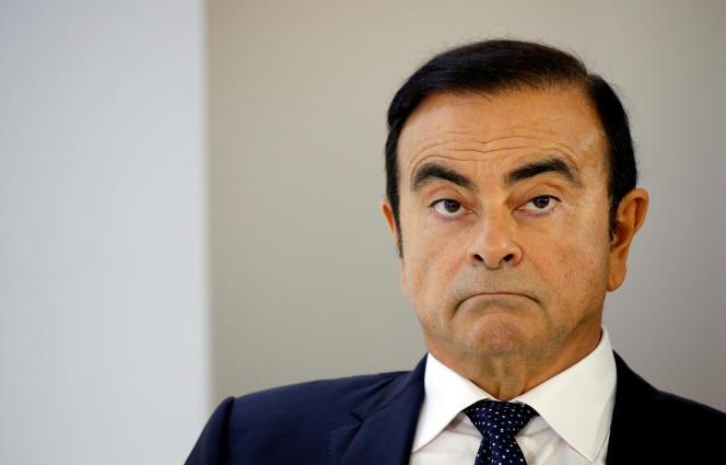 Carlos Ghosn, au Salon de l'auto de Paris, le 3 octobre.