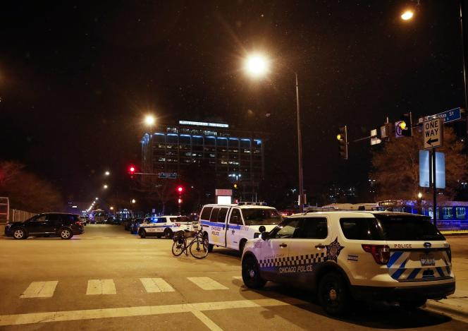 Les alentours de l'hôpital Mercy, à Chicago, ont été sécurisés.
