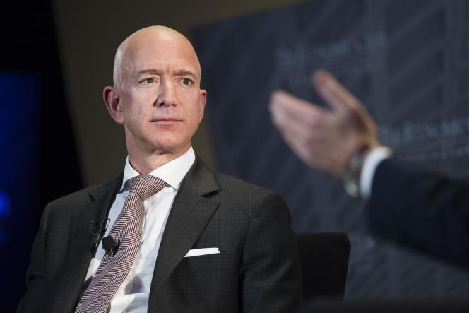 Jeff Bezos, PDG d'Amazon.