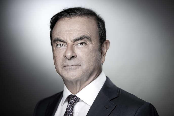 Carlos Ghosn, in Boulogne-Billancourt (Hauts-de-Seine), near Paris, September 12th.