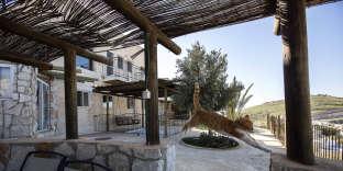 Une location proposée sur la plate-forme Airbnb dans la colonie israélienne de Nofei Prat (Cisjordanie), en 2016.
