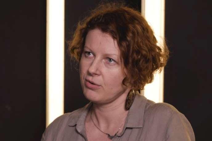 La réalisatrice du documentaire« Game Girls», AlinaSkrzeszewska, en février 2018.