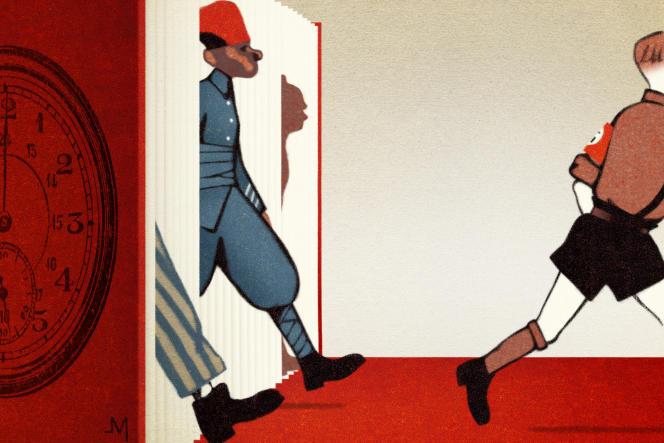 Illustration de Jean-François Martin, Prix Bologna Ragazzi 2011 pour son adaptation des « Fables », d'Esope (Milan, dès 8 ans).