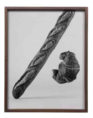 «Untitled»(Baguette, Croissant), 2018.