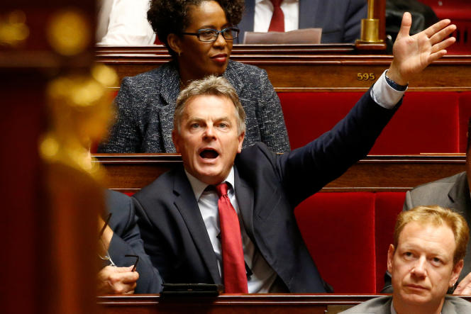 Fabien Roussel, le 16 octobre à l'Assemblée nationale.