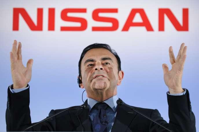 Carlos Ghosn, le 11 mai 2012.