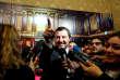 Le ministre italien de l'intérieur Matteo Salvini, au Sénat, à Rome, le 6 novembre.