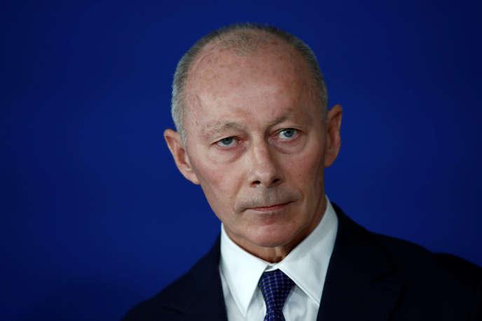 Thierry Bolloré, le 21 novembre 2018.