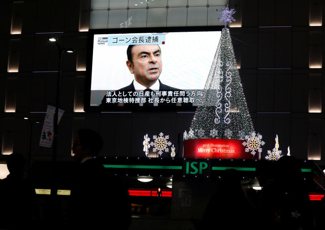 A Tokyo, le 21 novembre.