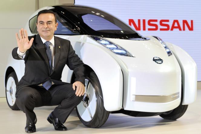 Carlos Ghosn, le 21 octobre 2009, à Tokyo.