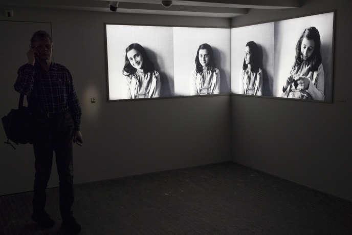 La jeune fille juive Anne Frank avait été déportée vers Westerbork en août 1944 après avoir été dénoncée.